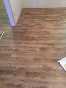 supply is extra and as low as $1.5/SF we install laminate to rep