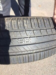 Four 19 inch Nokian Tires