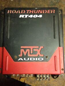MTX Audio Road Thunder amp