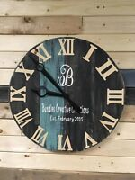 "Fundraiser for Habitat for Humanity -  DIY 22"" Rustic Clock"