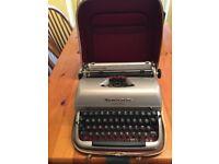 Vintage portable Remington quiet-Riter typewriter