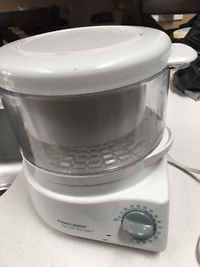 Steamer - Black & Decker like new
