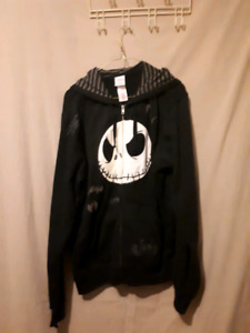 Disney The Nightmare Before Christmas zip up hoodie sweater