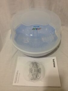 AVENT BOTTLE STERILIZER.