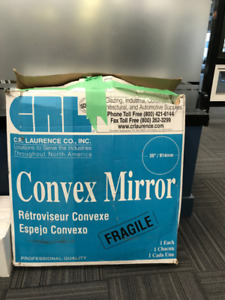 "36"" Convex Safety Mirror (Never Used) Indoor Use"