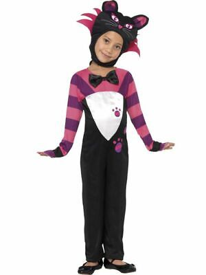 CHESHIRE Tabby Cat Costume Alice in Wonderland Toddler Child 1-2 Years Halloween - Alice In Wonderland Halloween Costume Toddler