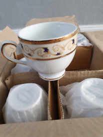 12 Cups and saucers