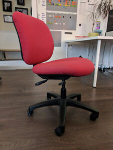 Red office Chair (4 of them) $10 Each