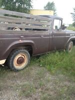 1959 FORD F 250   RESTORATION PROJECT