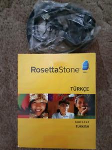 Rosetta stone Turkish Language