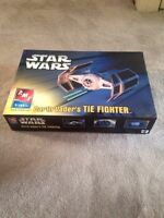 Star Wars Darth Vader's Tie Fighter AMT model kit