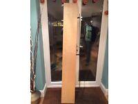 IKEA 190cm x 26cm floating shelf Birch Veneer