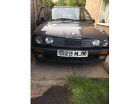 BMW 325i E30 Coupe manual rare classic project