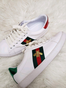 b461a39fc45 Gucci Ace Bee Shoes Womens Size 7