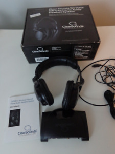Wireless Infrared Home Audio Headset System