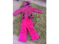 Shredz Childs skiing outfit