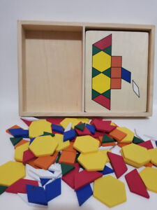 Melissa and Doug Pattern Blocks and Board