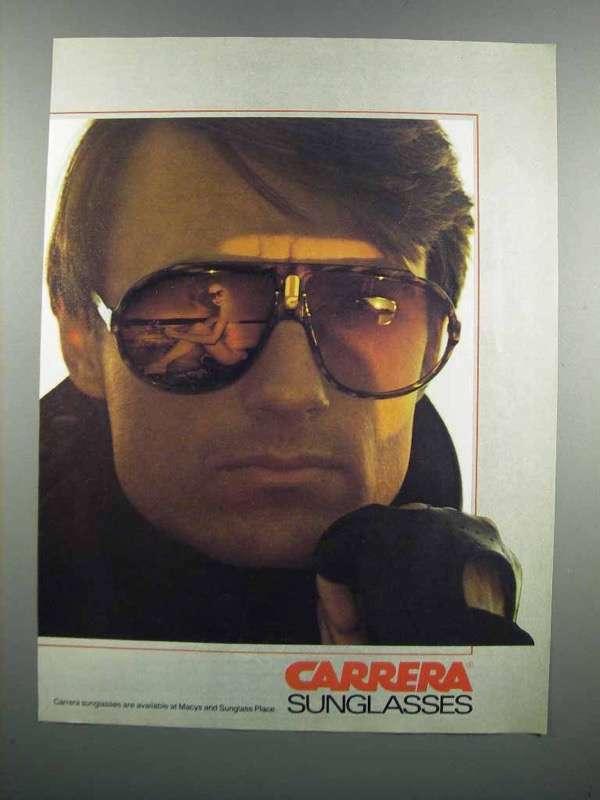 1983 Carrera Sunglasses Ad