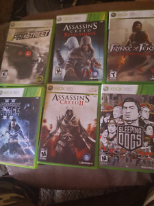 Selling more XBOX 360 GAMES 5 for 25