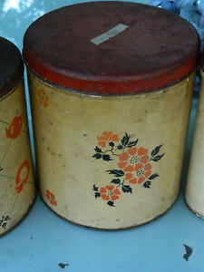 Antique Bread Box and Canisters Peterborough Peterborough Area image 2
