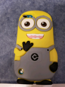 Found Ipod Touch with minion case.