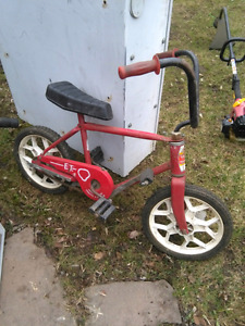 Vélo enfants Tonka frein à pédale