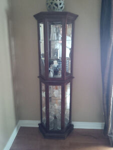China Cabinet ( solid wood)