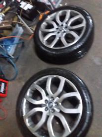"Range Rover Evoque alloys 20"" set"