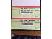 Rail / Train Travel Voucher