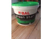 FREE huge 15kg tub of tile adhesives. Has been opened and around 1/4 used