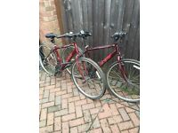 2 APOLLO CX.10 MOUNTAIN BIKES SPARES ONLY