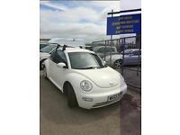 Volkswagen Beetle 1.9TDI 1 OWNER FROM NEW