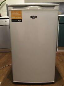 Bush under counter fridge. Less than 6m old