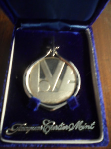 JACQUES CARTIER  .999 SILVER '' LOVE '' PENDANT