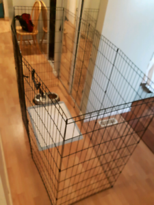 Dog play pen fence  For Sale $55