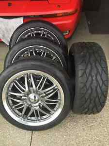 Rims & rubbers 4sale Kitchener / Waterloo Kitchener Area image 1