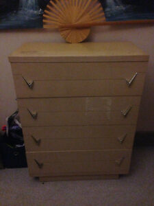 4 drawer solid oak