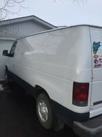 2004 Ford E250 van located in drumheller