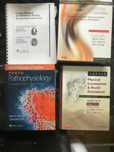 Nursing Textbooks (Ryerson Post Diploma Nursing)