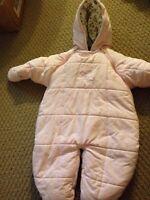 Girl snowsuit