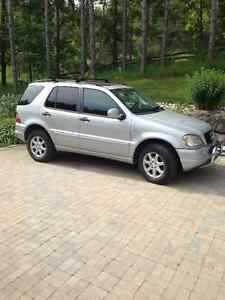 1999 Mercedes-Benz M-Class TY SUV