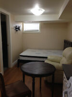 Furnished Studio till March 23rd for single person only