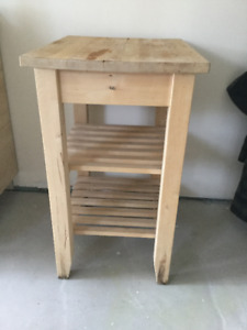 Solid Ikea Kitchen Island