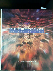 Aslam Kassimali - structural analysis, 2nd ed West Island Greater Montréal image 1