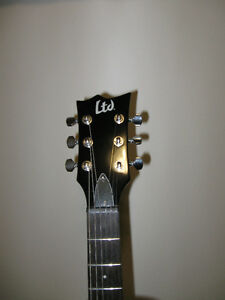 LTD EC-50 Guitar and Hard Shell Case in Excellent Condition Kitchener / Waterloo Kitchener Area image 4
