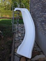 Swimming Pool Slide with ladder 6ft