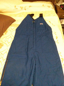 FOR SALE: NORTH INSULATED BIB COVERALLS, SIZE-XL-TALL!!! NEW!!!