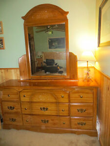 lovely dresser and mirror