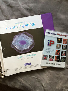Principles of Human Physiology Textbook, Stanfield