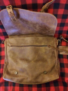 Roots Tribe Leather Bag - Rarely Used